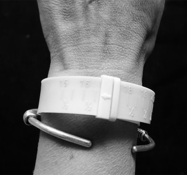 MEASURING FOR BRACELETS, CUFFS